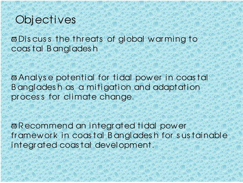 adaptation pr ocess for climate change.