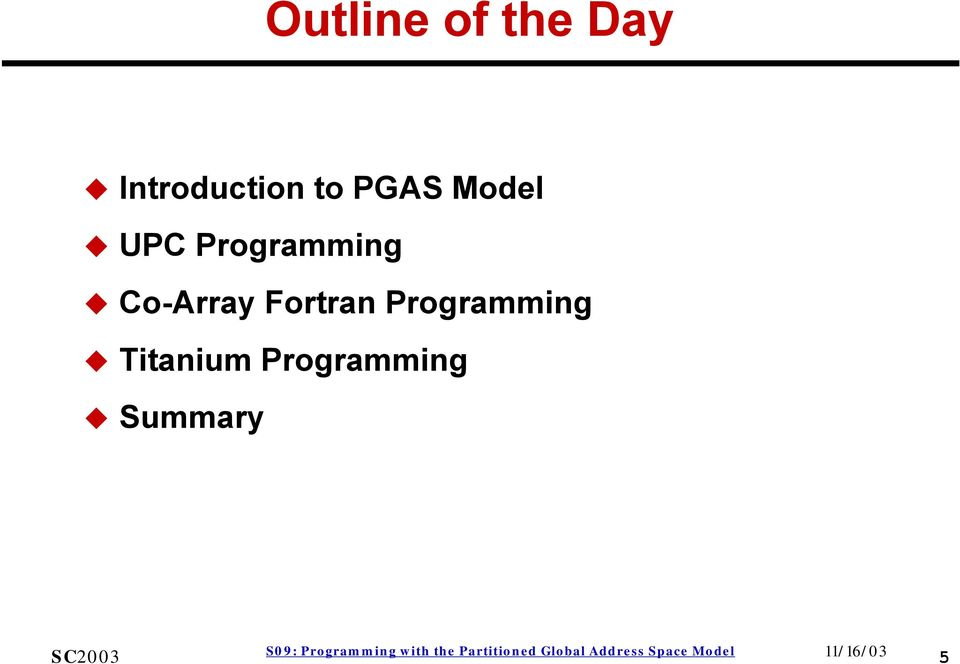 Programming Co-Array Fortran