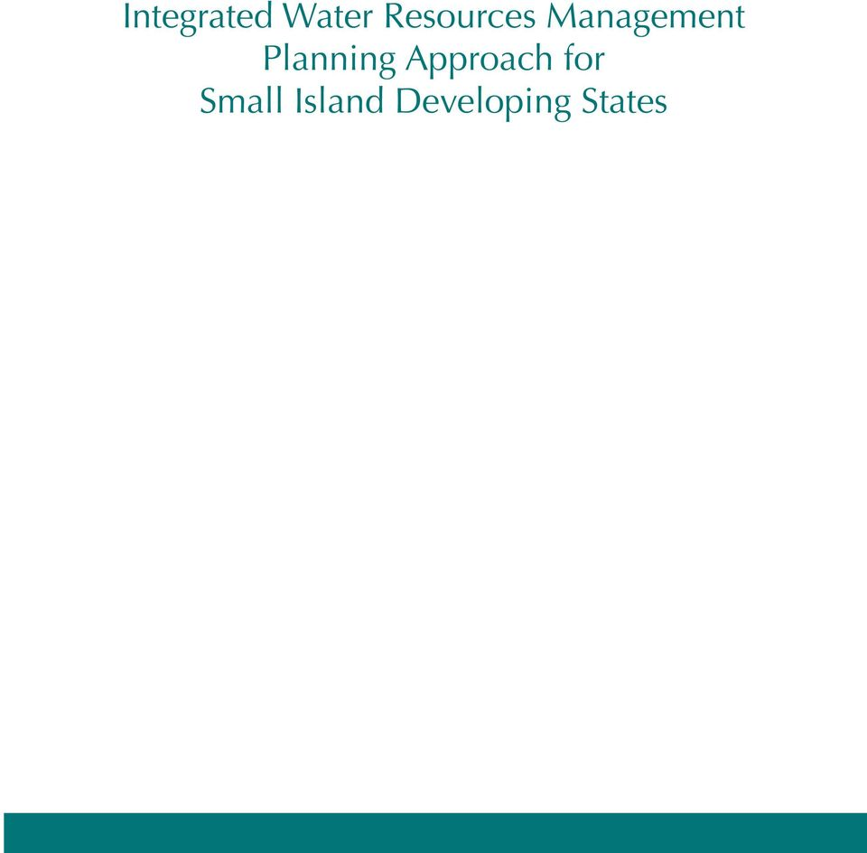 Planning Approach for