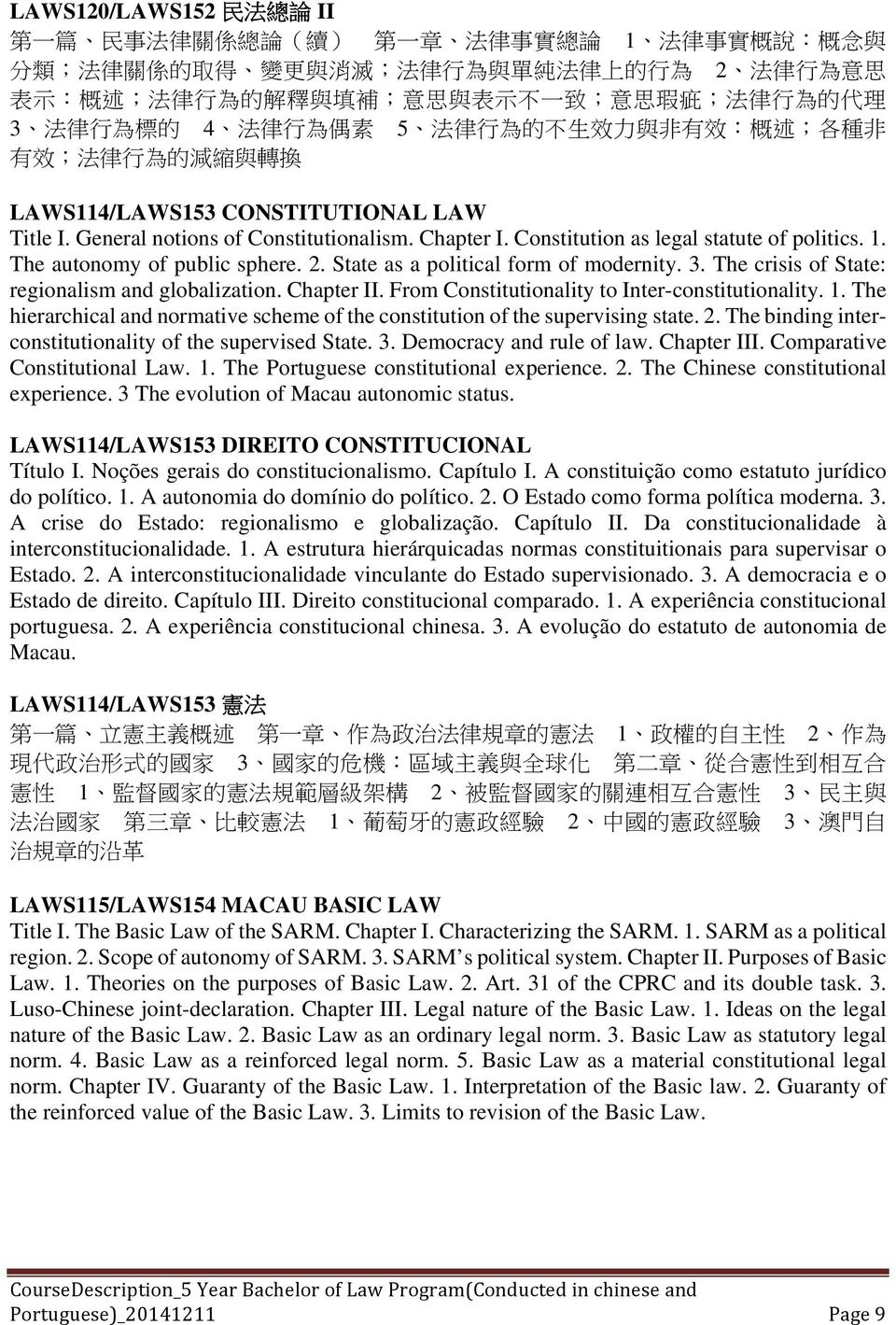 . 概 述 ; 各 種 非 有 效 ; 法 律 行 為 的 減 縮 與 轉 換 LAWS114/LAWS153 CONSTITUTIONAL LAW Title I. General notions of Constitutionalism. Chapter I. Constitution as legal statute of politics. 1.