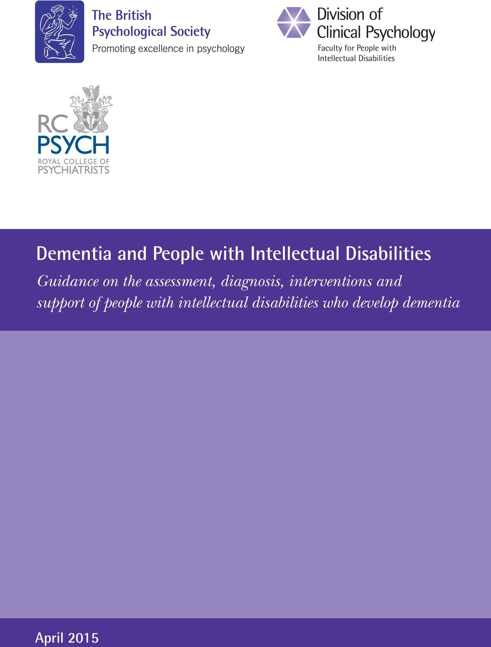 assessment, diagnosis, interventions and support of people