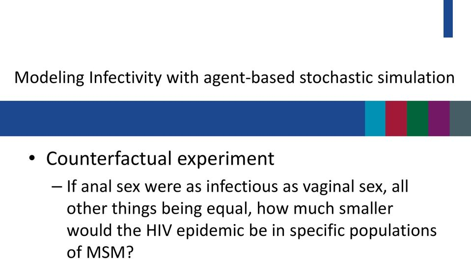 vaginal sex, all other things being equal, how much smaller