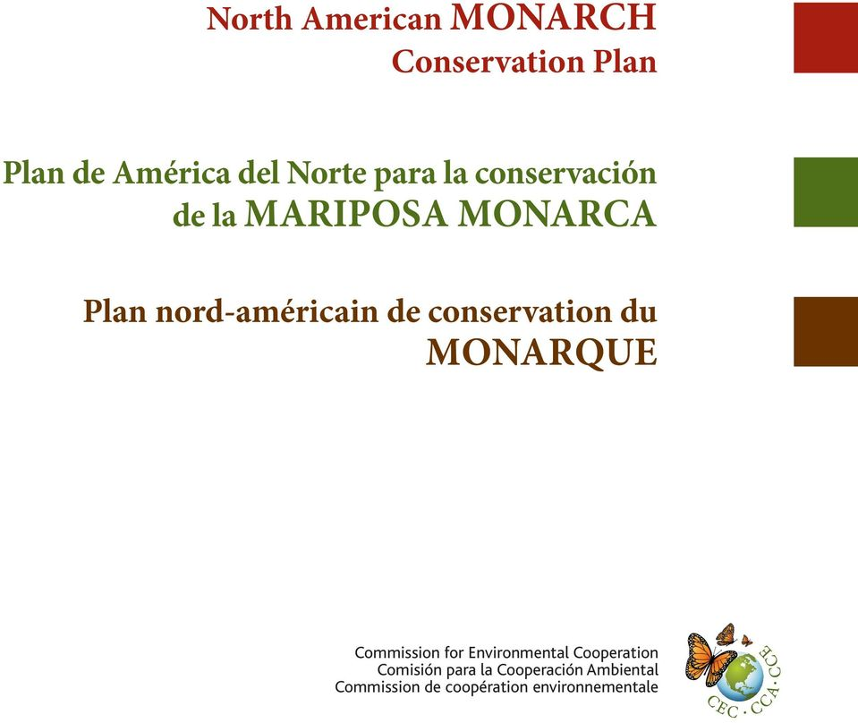 conservation du MONARQUE Commission for Environmental Cooperation