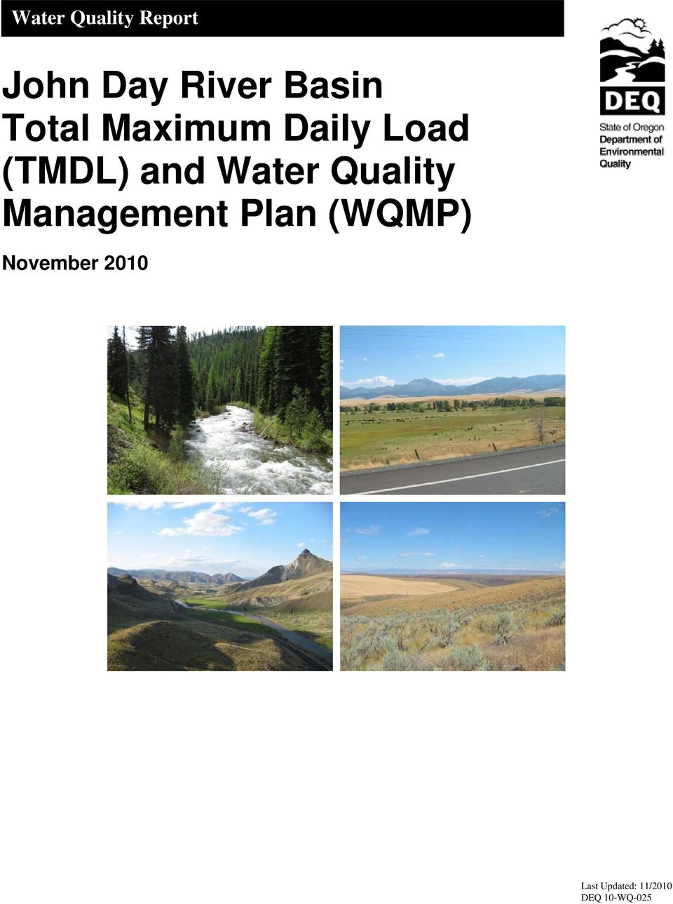 and Water Quality Management Plan (WQMP)