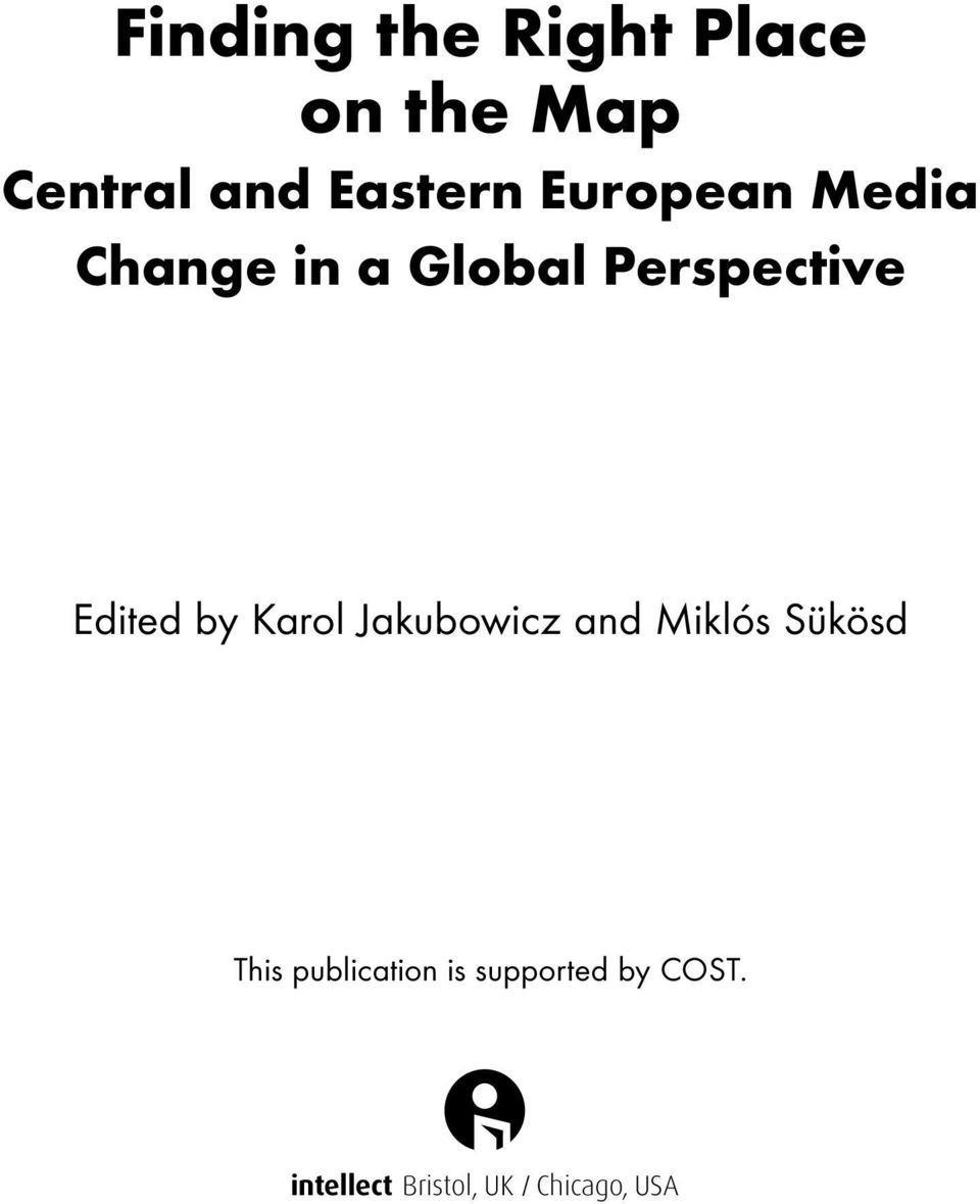 Perspective Edited by Karol Jakubowicz and
