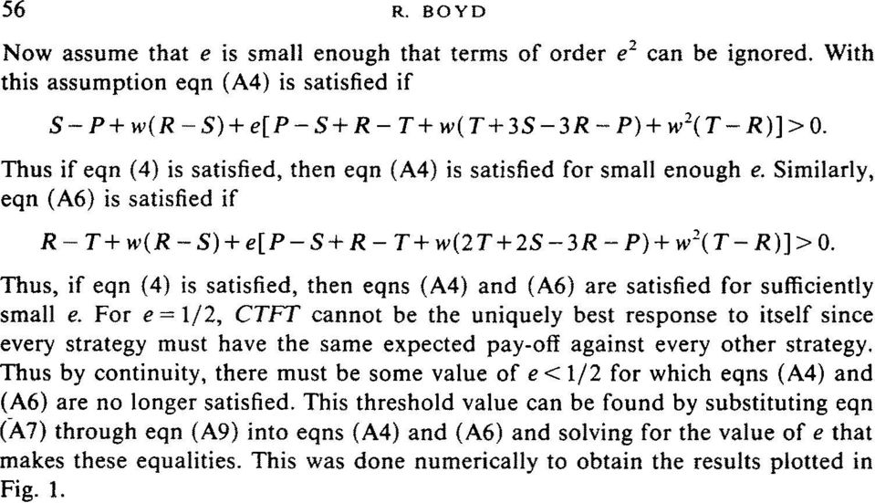 Thus, if eqn (4) is satisfied, then eqns (A4) and (A6) are satisfied for sufficiently small e.