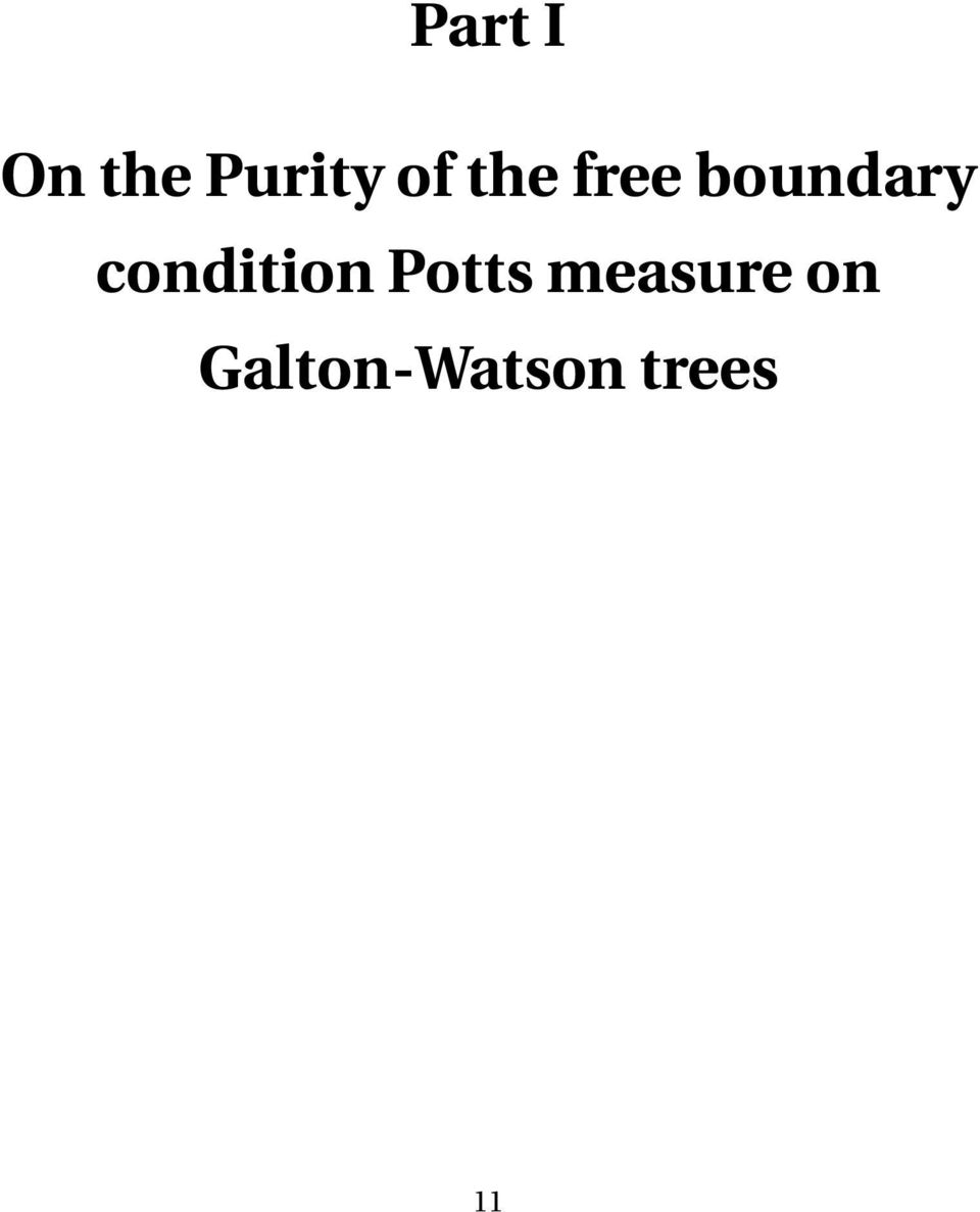 condition Potts
