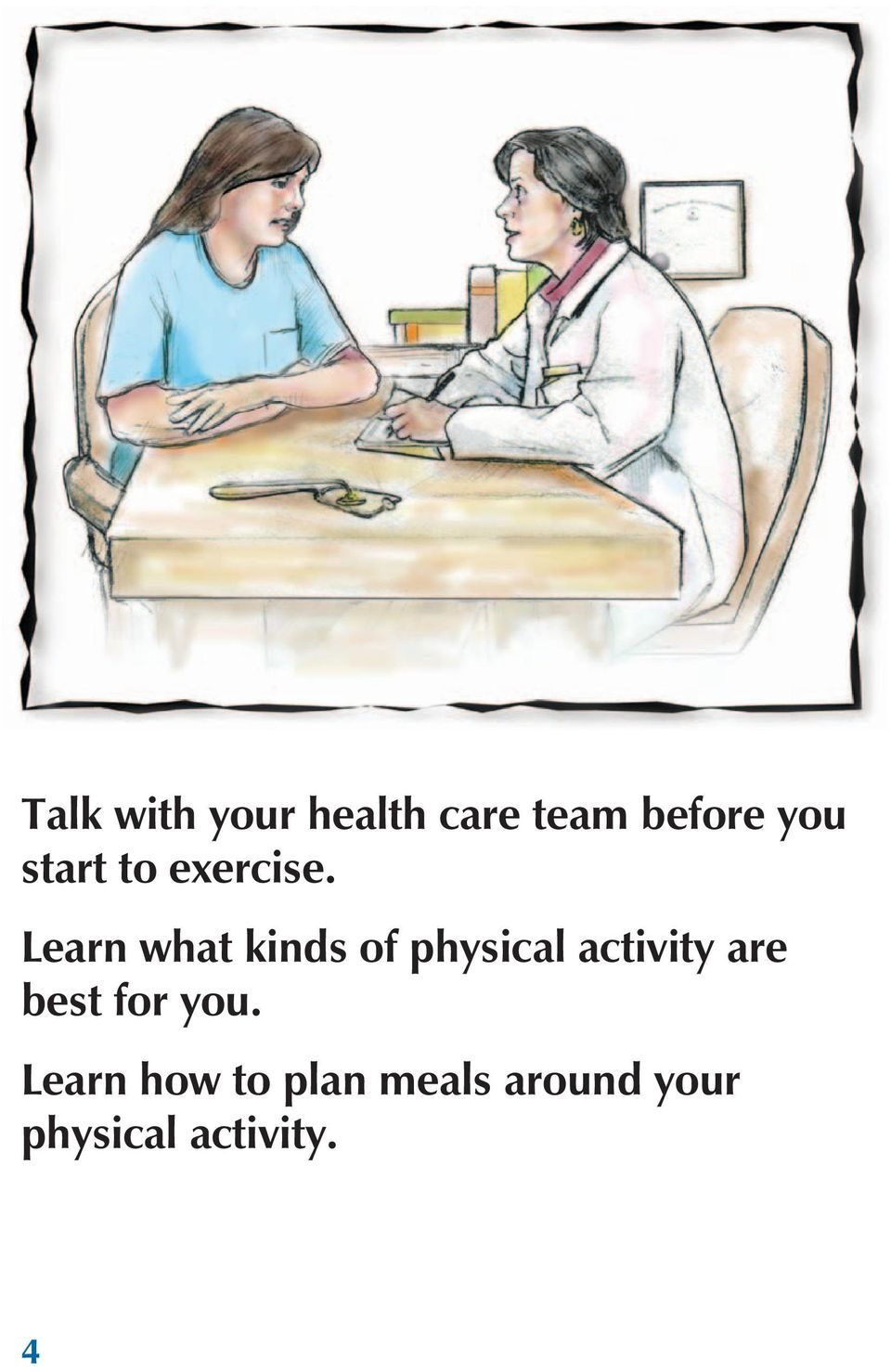 Learn what kinds of physical activity are