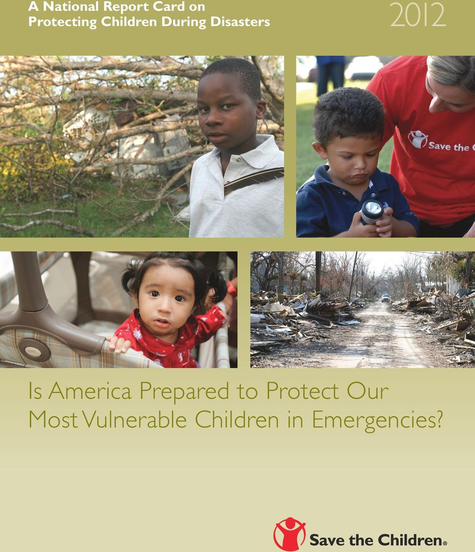 Disasters 2012 Is America Prepared