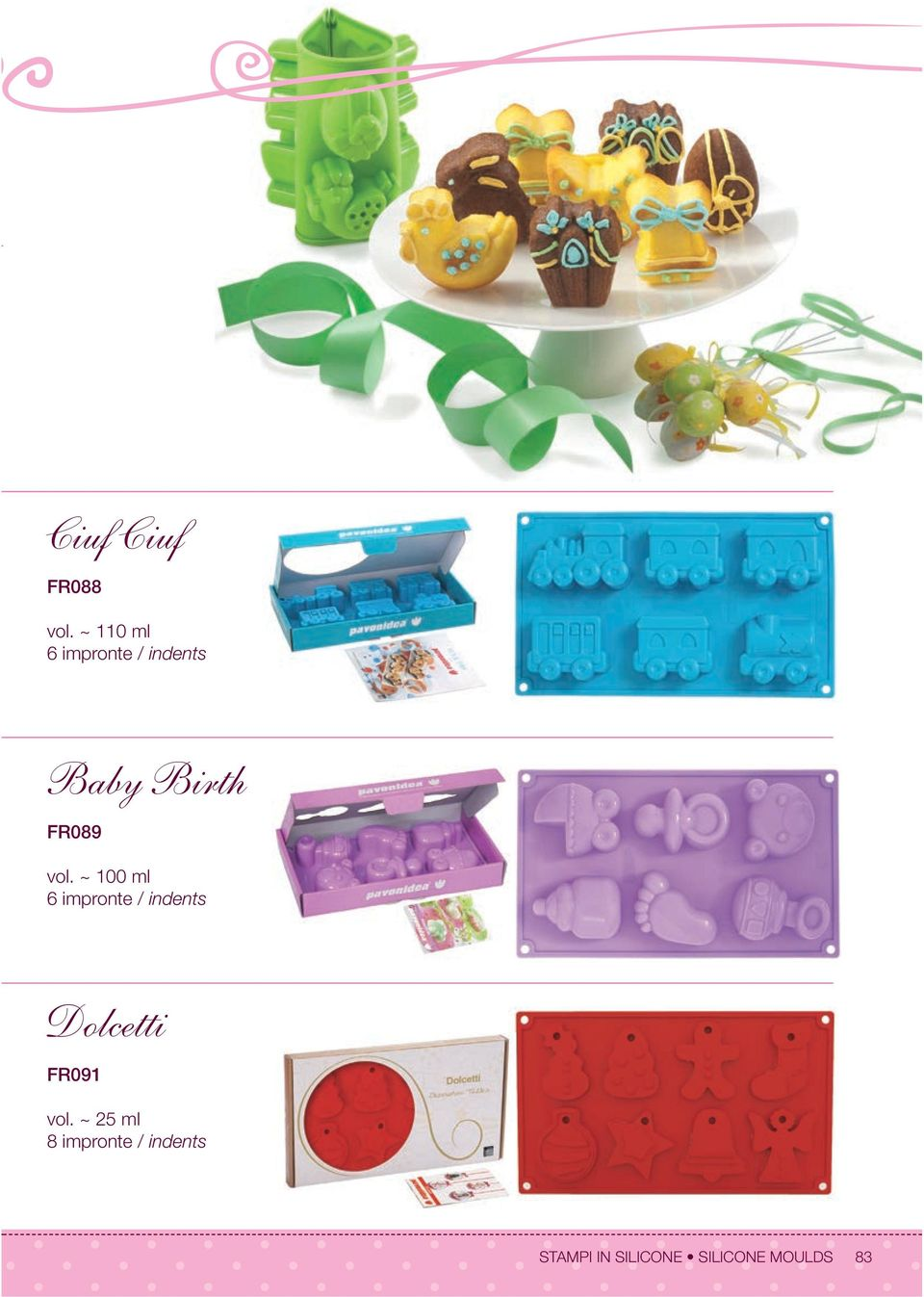 Stampi In Silicone Silicone Moulds PDF Free Download