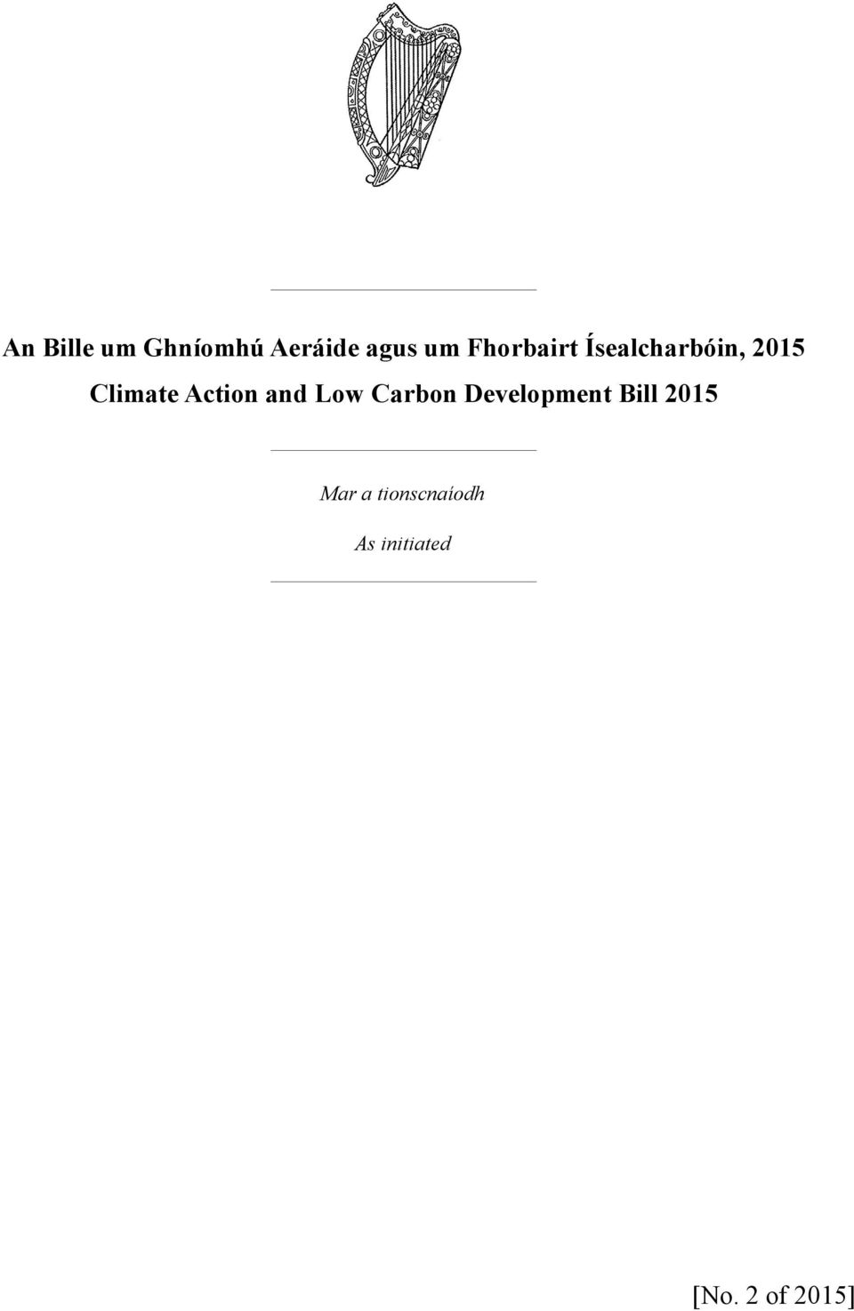 Action and Low Carbon Development