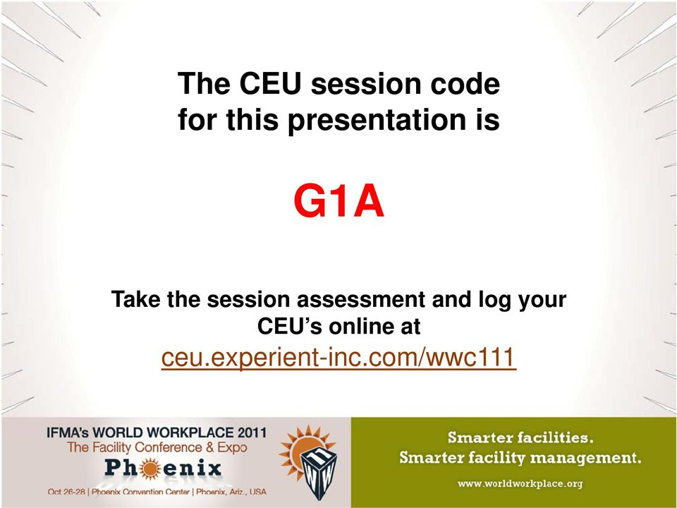 assessment and log your CEU s online