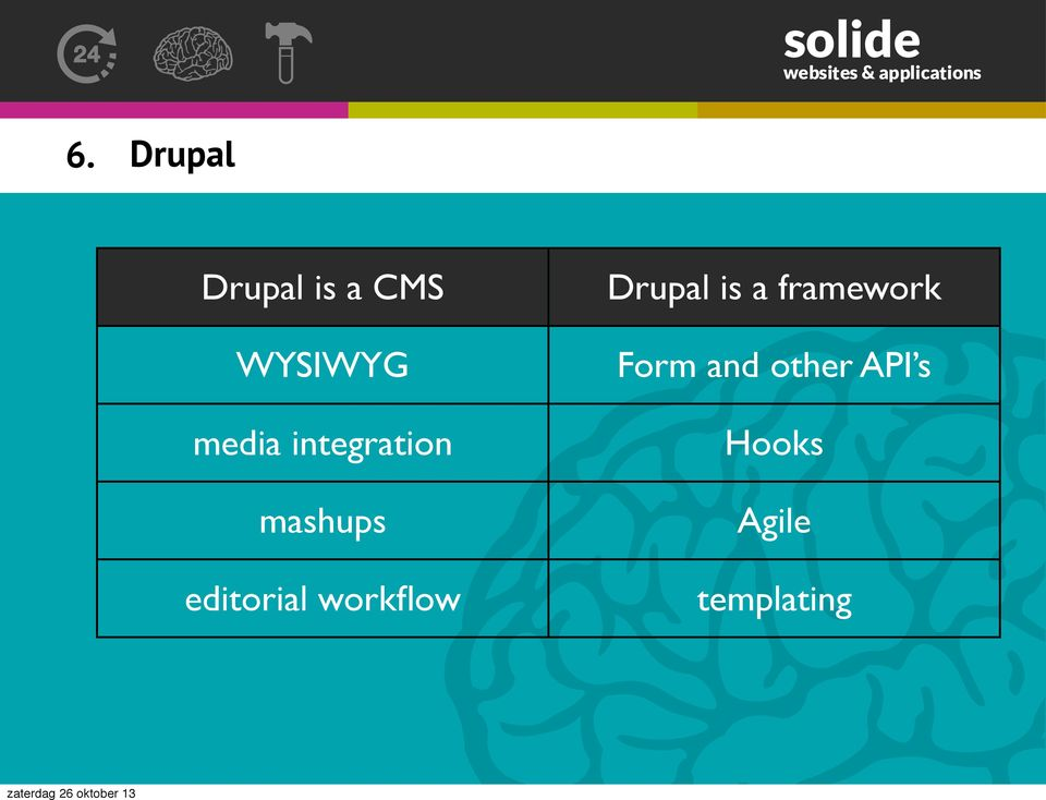 workflow Drupal is a framework Form