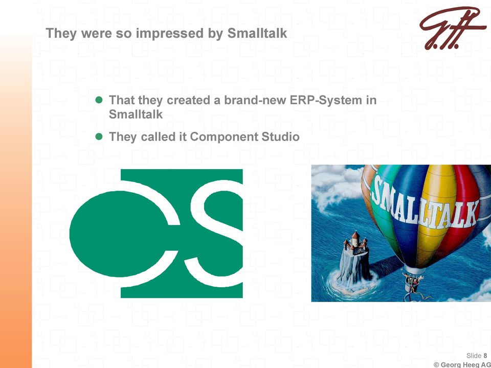 brand-new ERP-System in Smalltalk