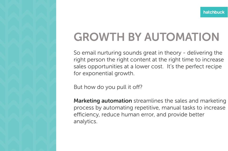 It s the perfect recipe for exponential growth. But how do you pull it off?