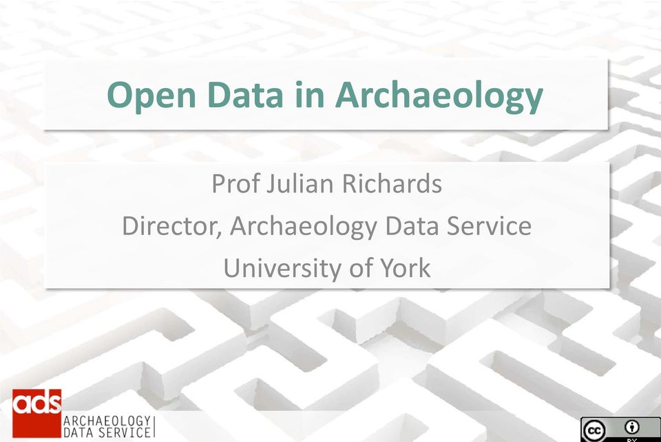 Director, Archaeology