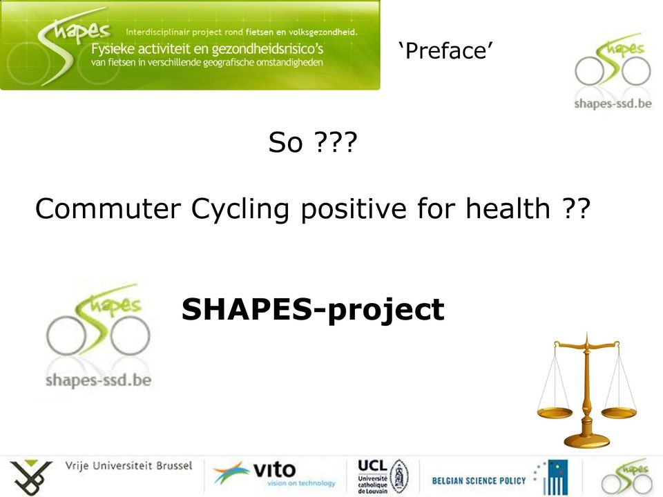 Cycling positive