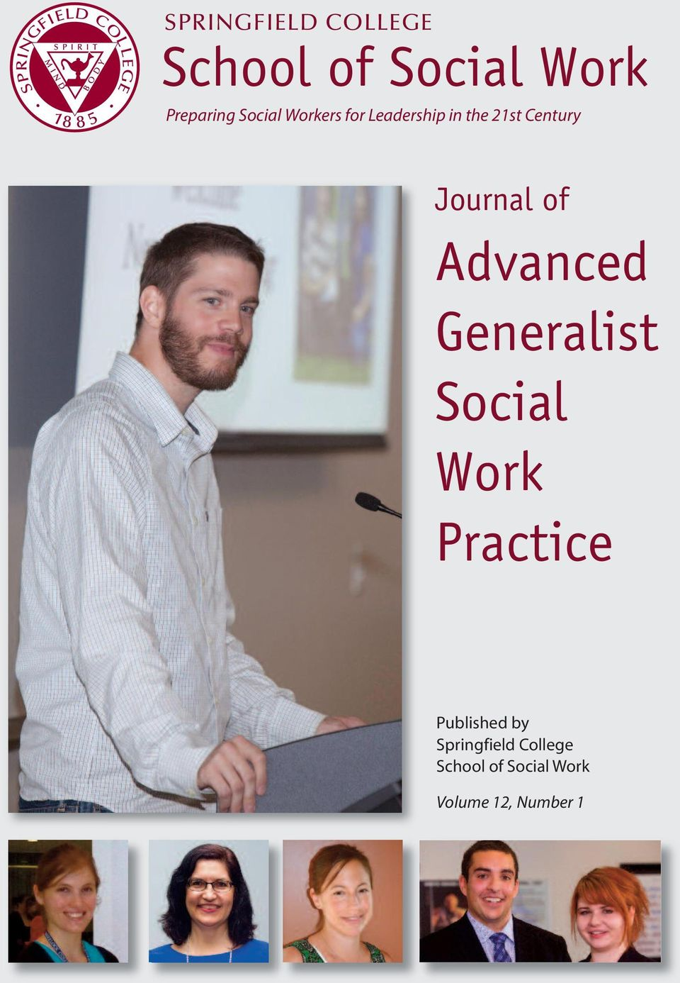 Journal of Advanced Generalist Social Work Practice