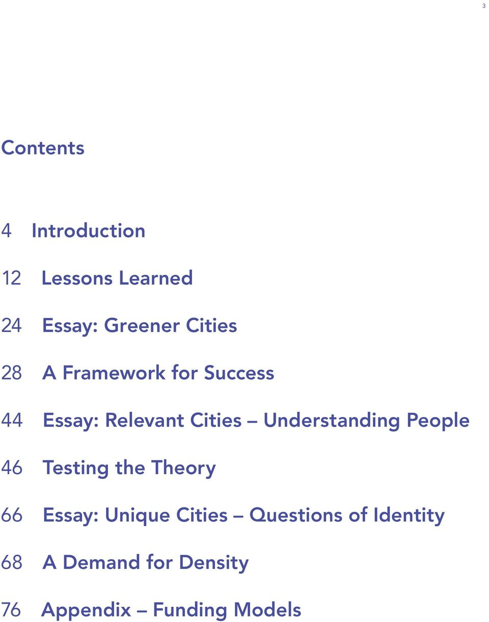 Understanding People 46 Testing the Theory 66 Essay: Unique