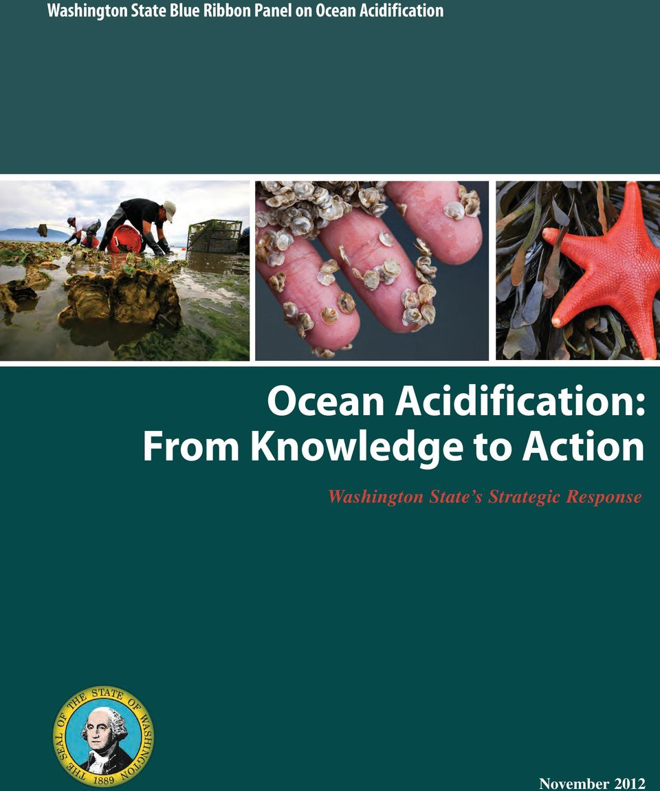 Acidification: From Knowledge to