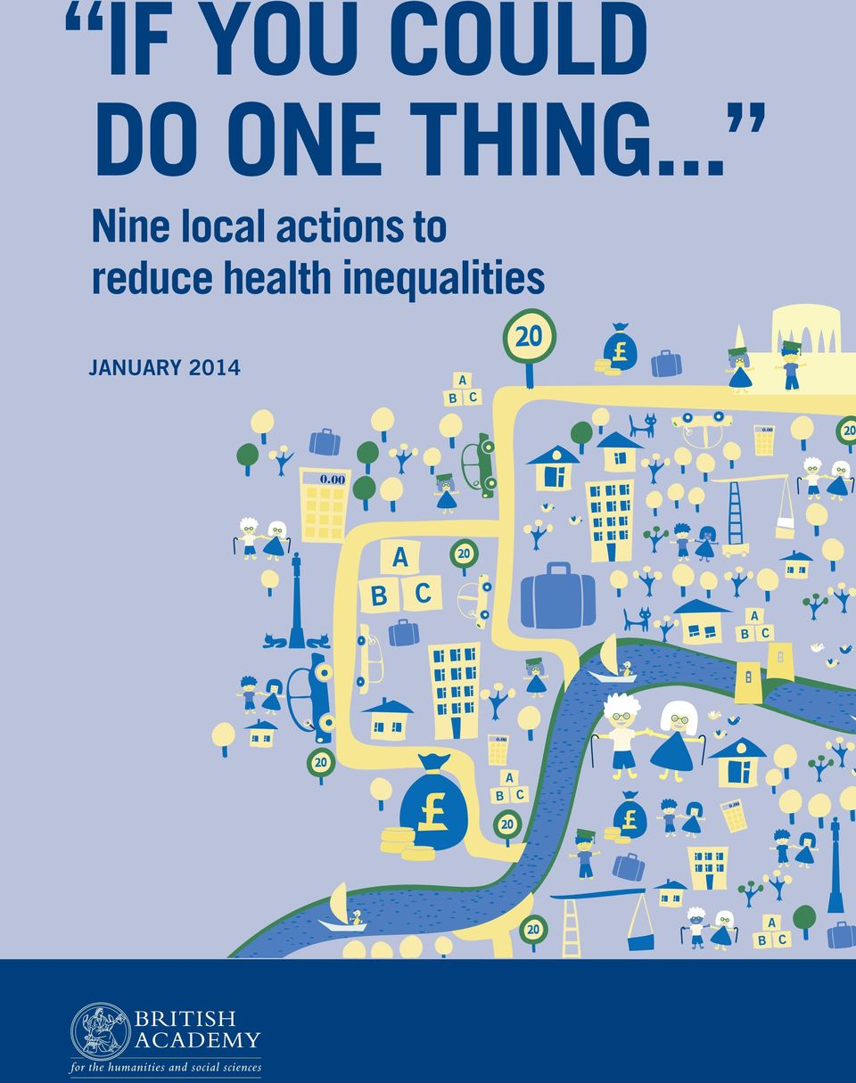 health inequalities JANUARY 2014 B