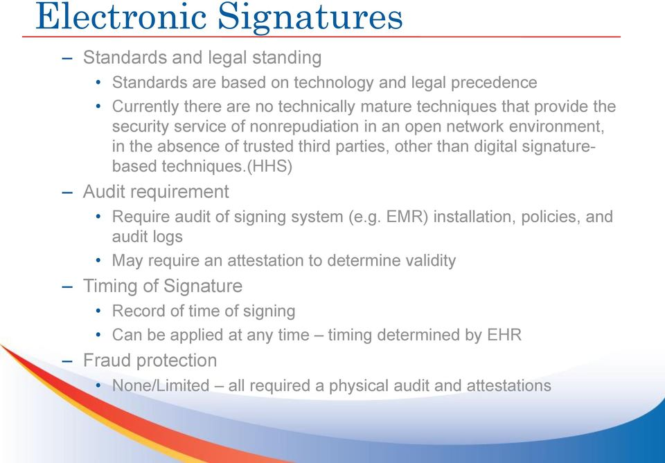 (hhs) Audit requirement Require audit of sign