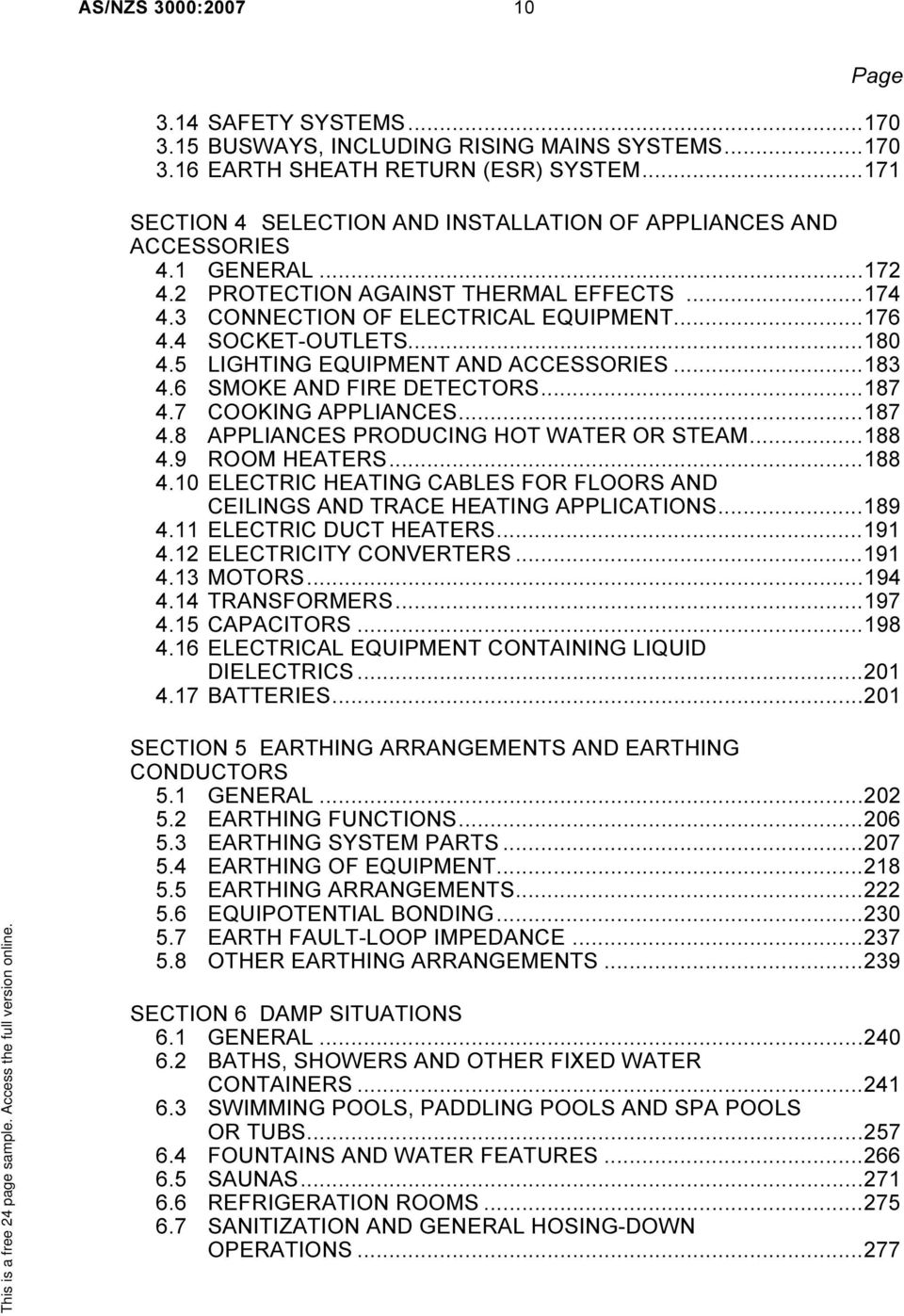 Asnzs 30002007 wiring rules pdf 180 45 lighting equipment and accessories183 46 smoke and fire keyboard keysfo Images