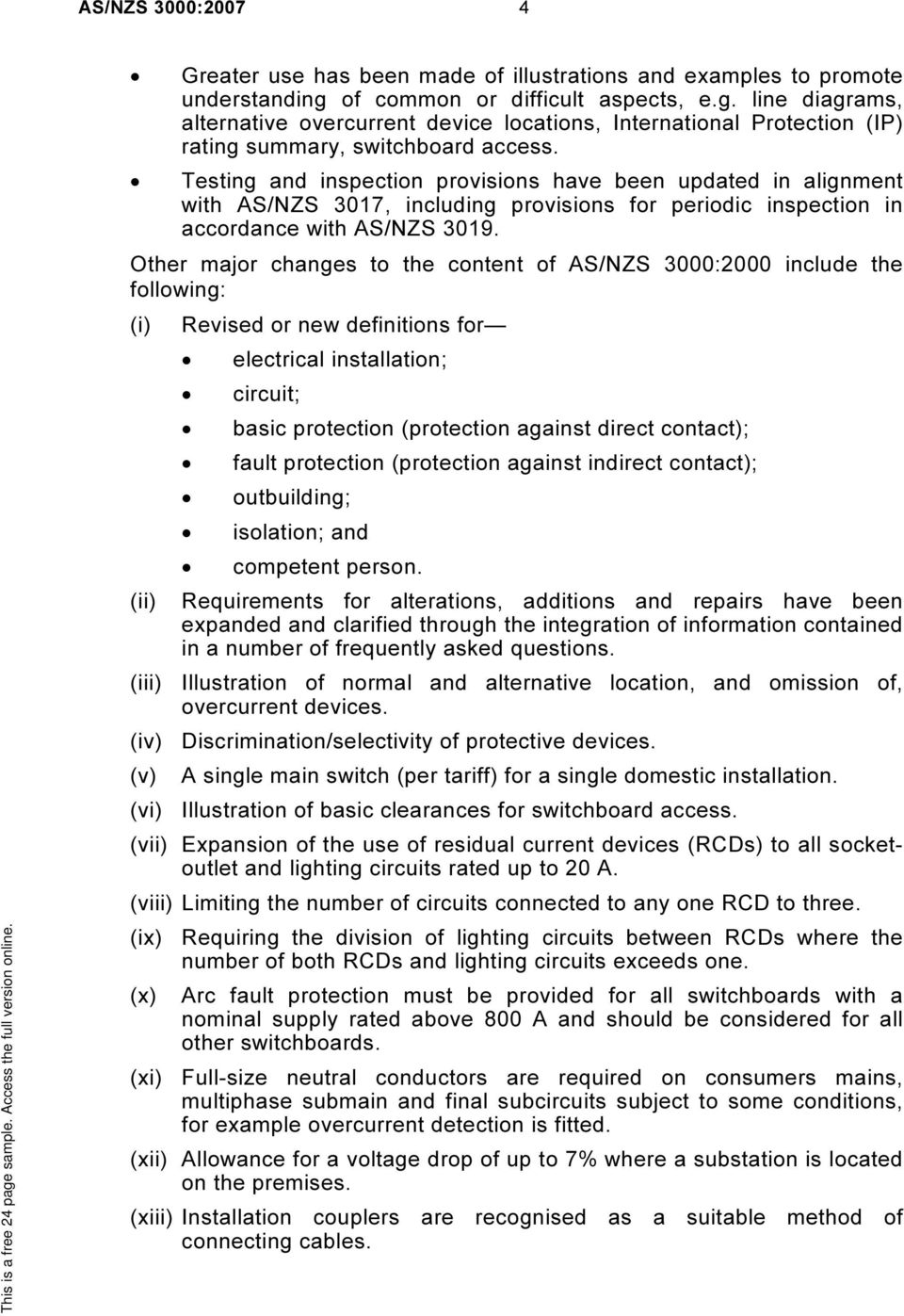 Asnzs 30002007 wiring rules pdf testing and inspection provisions have been updated in alignment with asnzs 3017 including keyboard keysfo Images