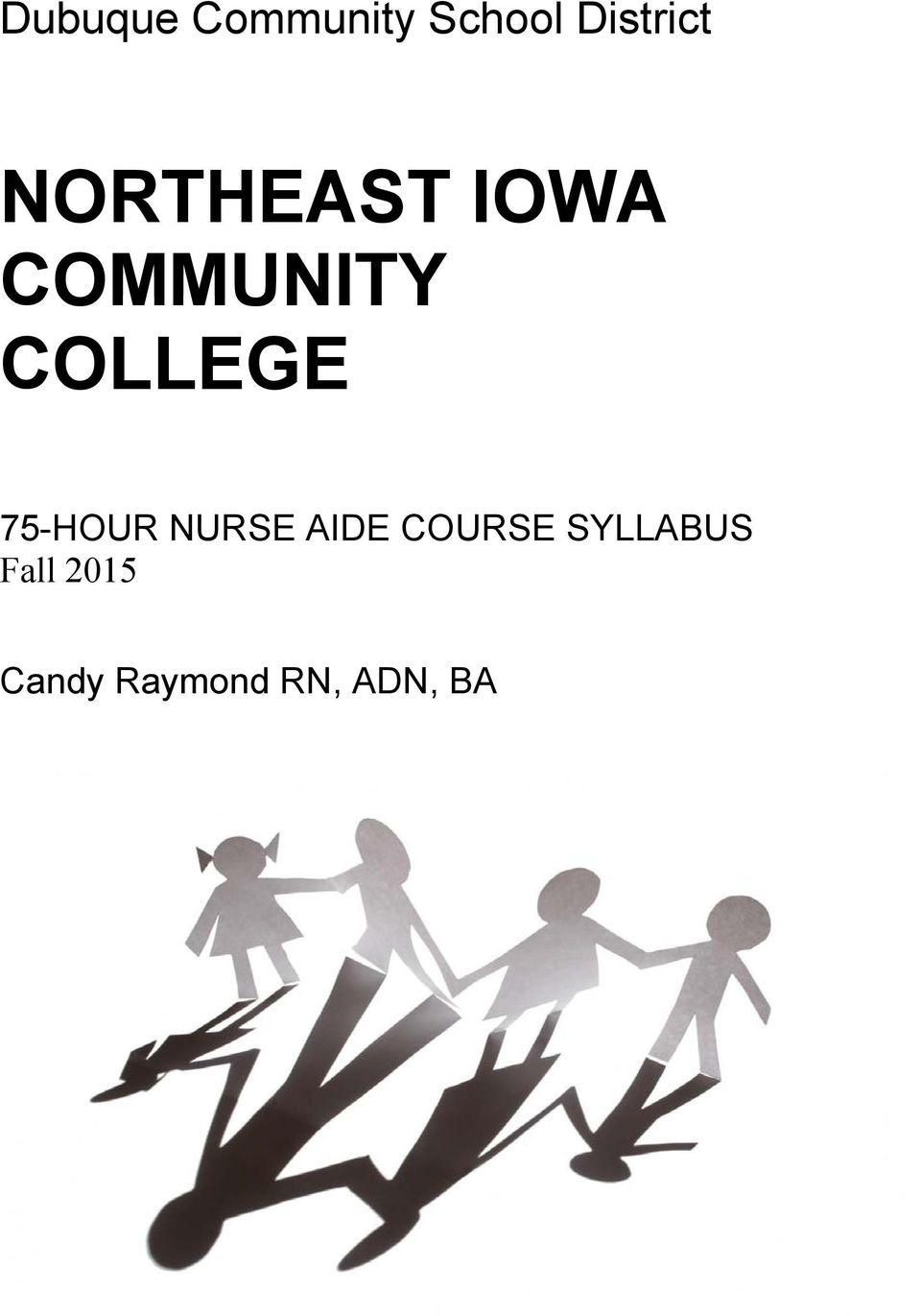 75-HOUR NURSE AIDE COURSE SYLLABUS