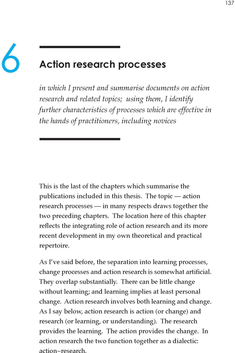 abstract for action research paper