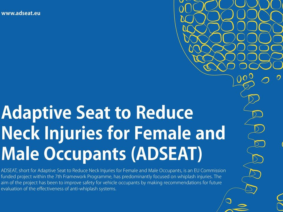 Reduce Neck Injuries for Female and Male Occupants, is an EU Commission funded project within the 7th Framework