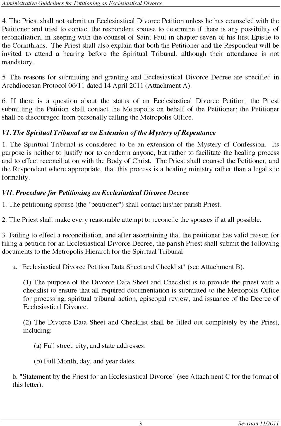Administrative guidelines for submitting a petition for an the priest shall also explain that both the petitioner and the respondent will be invited to solutioingenieria Images