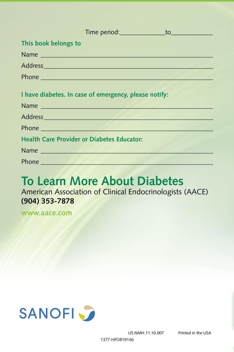 Diabetes Educator: Name Phone To Learn More About Diabetes American Association of