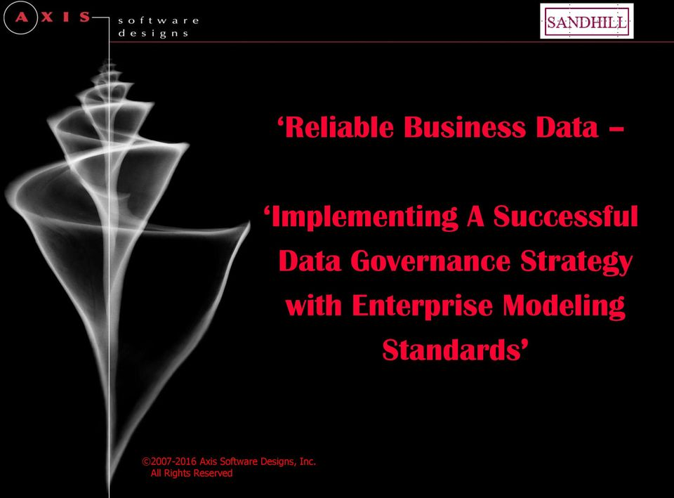 Governance Strategy with