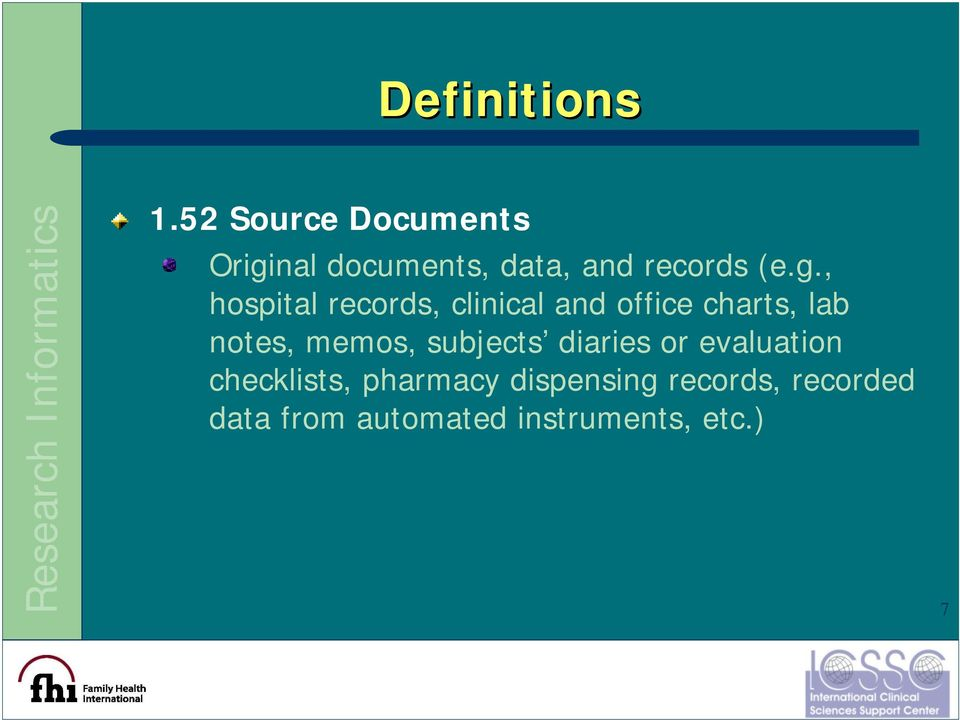 nal documents, data, and records (e.g.