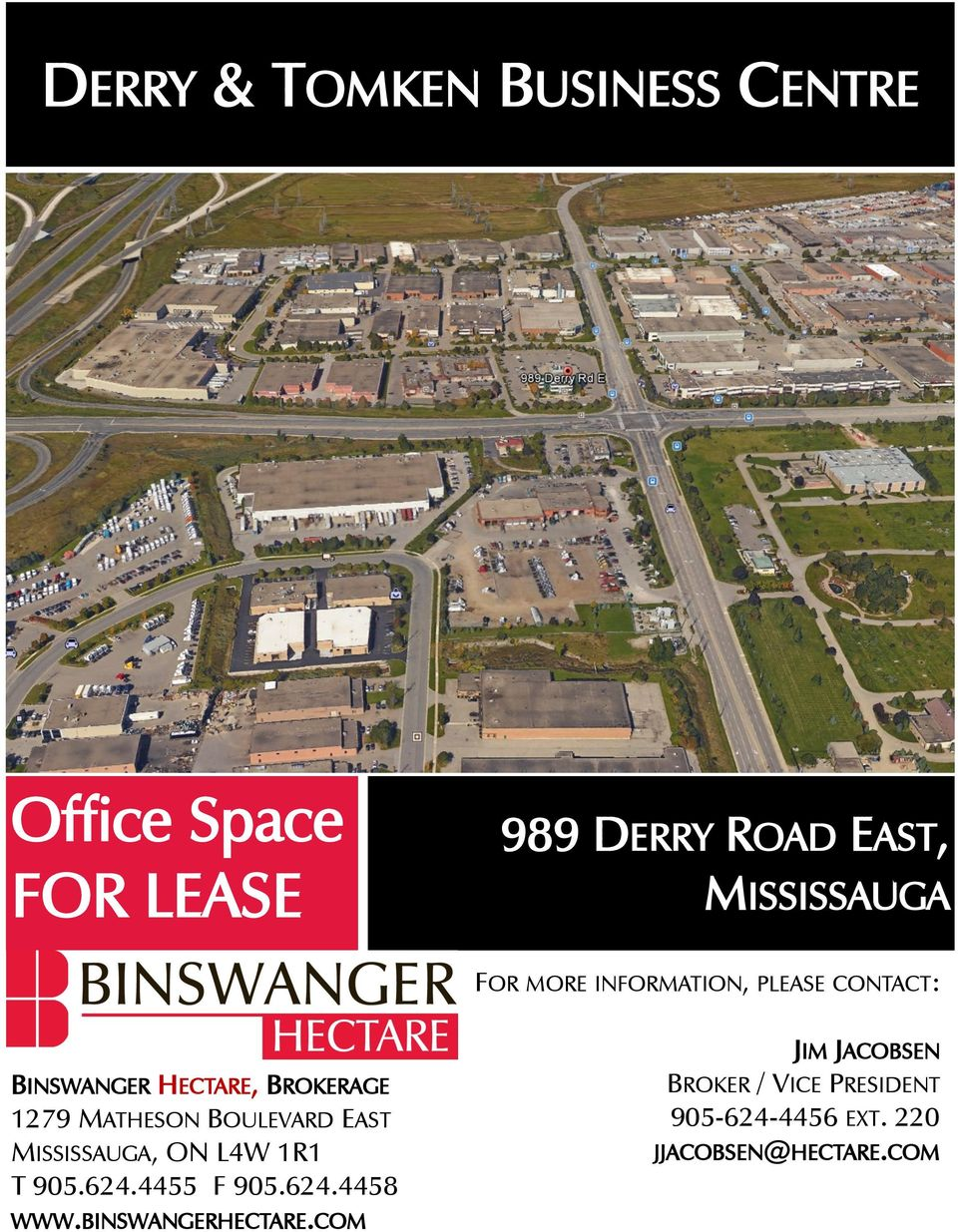 MATHESON BOULEVARD EAST MISSISSAUGA, ON L4W 1R1 T 905.624.4455 F 905.624.4458 WWW.