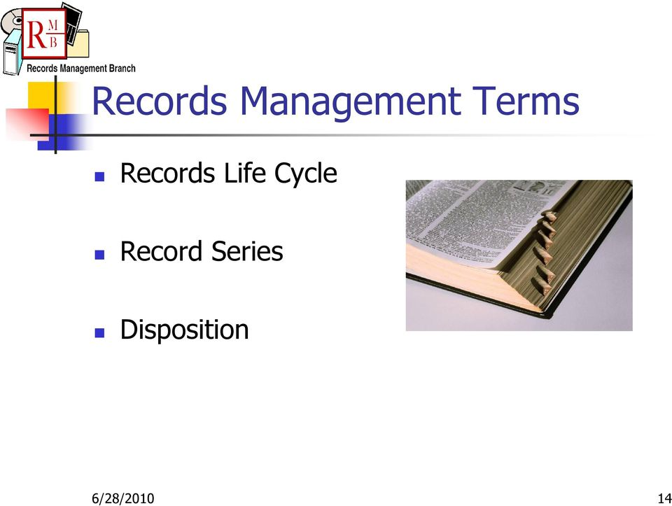Cycle Record Series