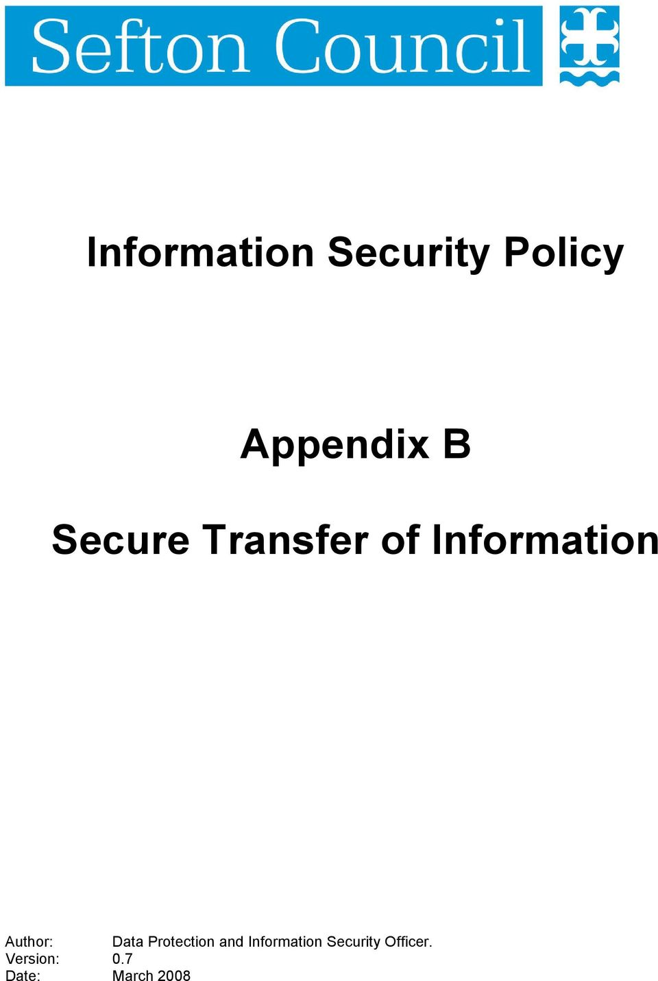 Data Protection and Information