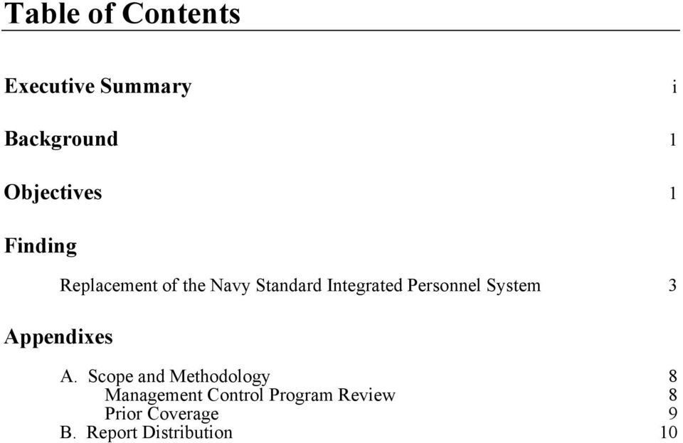 Integrated Personnel System 3 A.