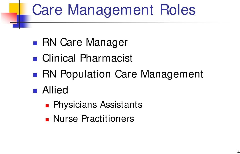 Population Care Management Allied