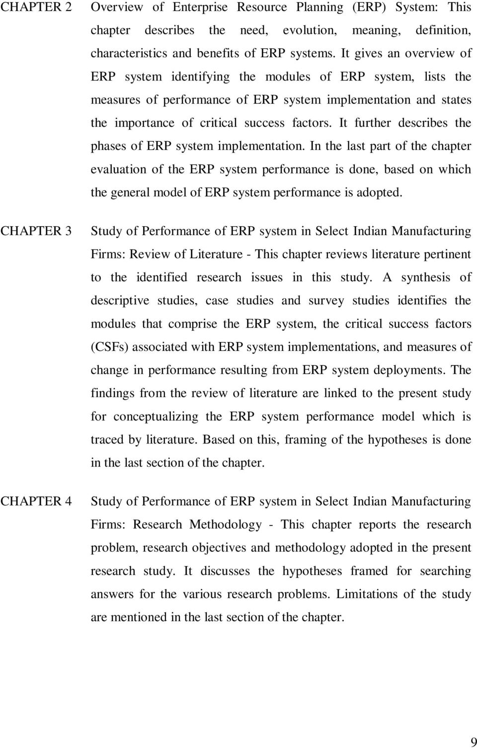 It further describes the phases of ERP system implementation.