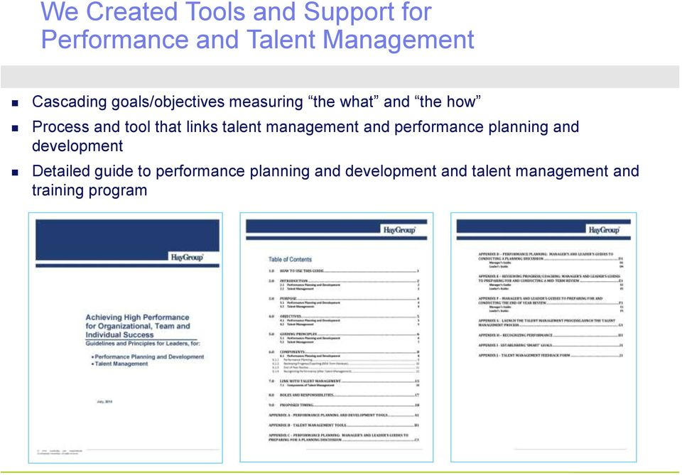 talent management and performance planning and development Detailed guide to
