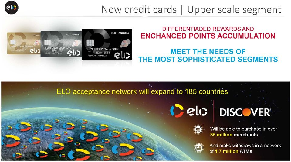 acceptance network will expand to 185 countries Will be able to purchase in