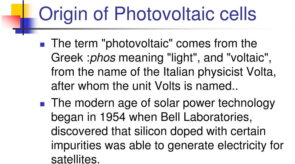 Volts is named.