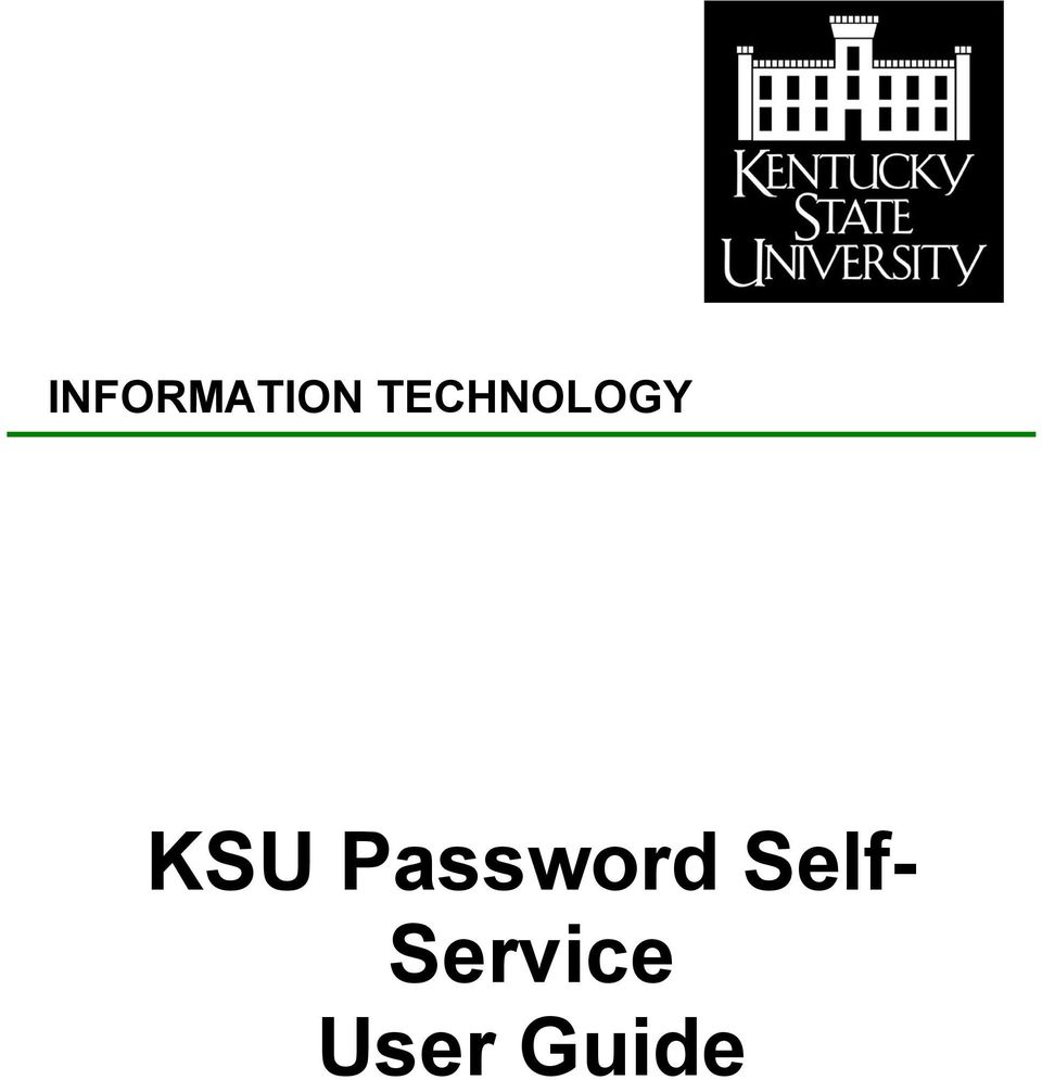 Password Self-