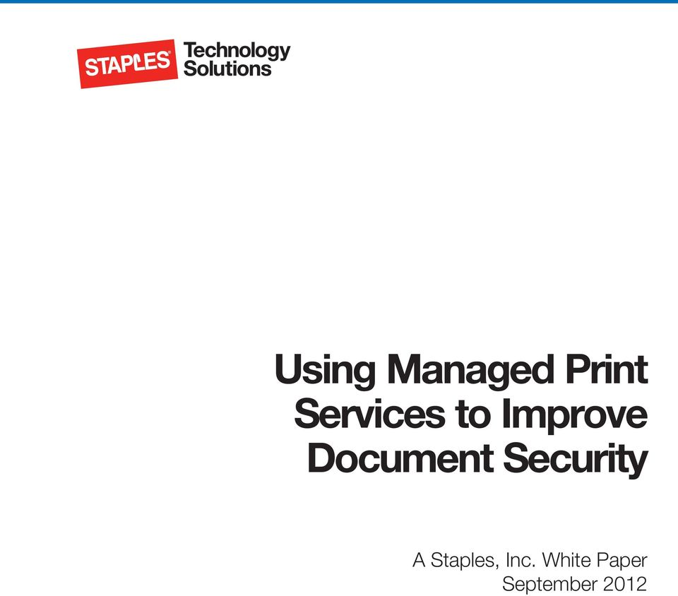 Document Security A