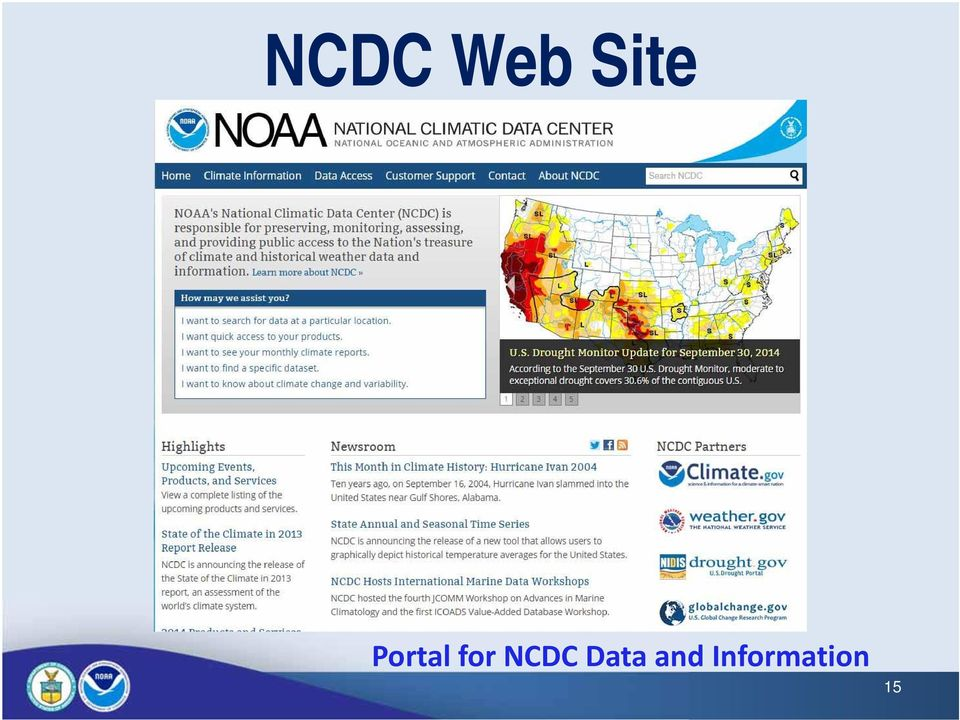 NCDC Data and