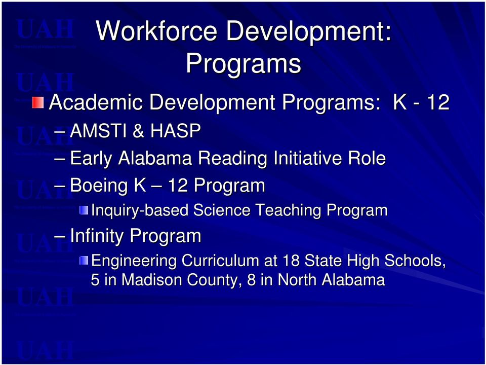 Science Teaching Program Infinity Program Engineering Curriculum