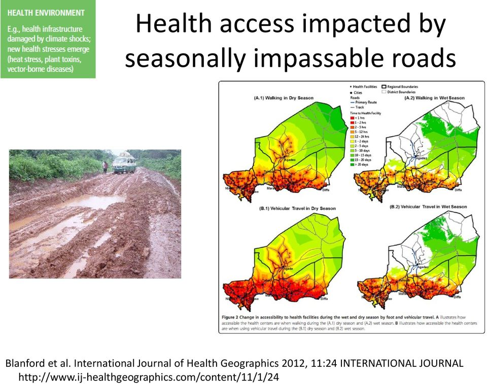 International Journal of Health Geographics 2012,