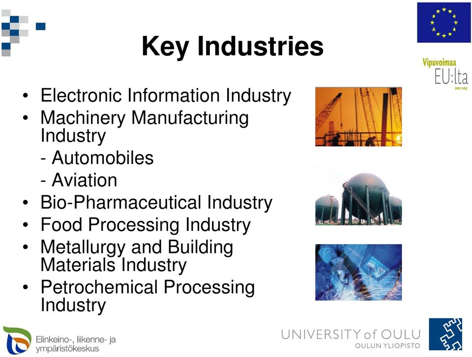 Bio-Pharmaceutical Industry Food Processing Industry